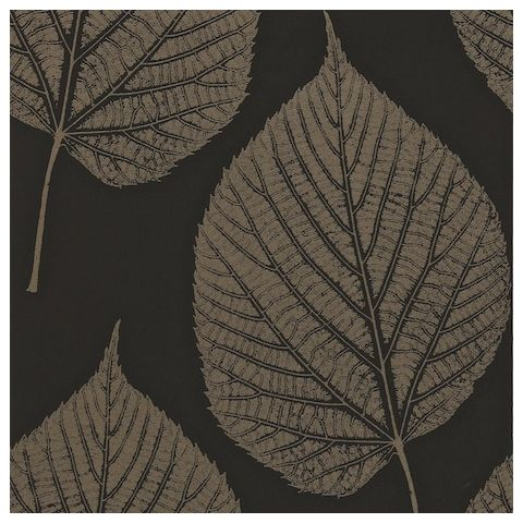 Harlequin Momentum 2 Wallpaper Leaf 110372 Onyx/Hemp