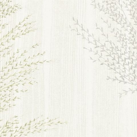 Harlequin Poetica Wallpaper-Angelica 110565 Colour:-Sage and Linen