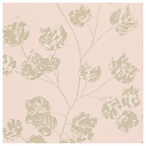 Harlequin Poetica Wallpaper-Bonica 110582 Colour:-Blush, Gilver and Gold