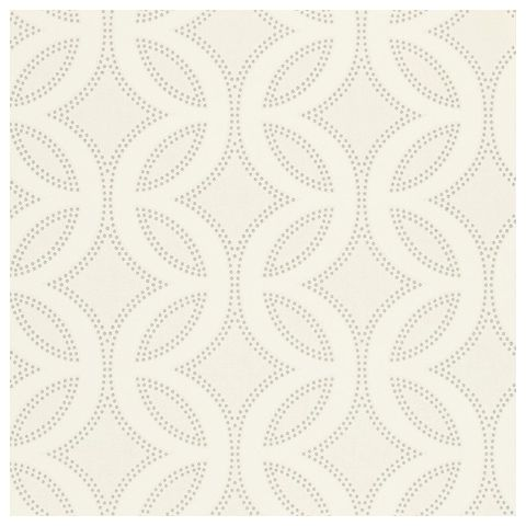 Harlequin Poetica Wallpaper-Caprice 110594 Colour:-Chalk, Pearl and Silver
