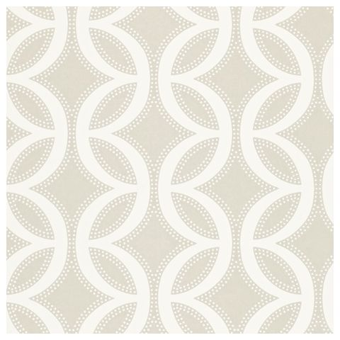 Harlequin Poetica Wallpaper-Caprice 110596 Colour:-Chalk and Flint