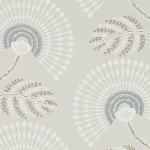Harlequin Paloma Wallpaper-Louella 111910 Seaglass/Teal