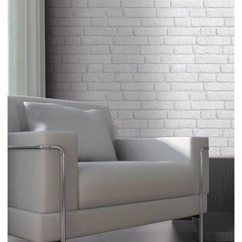 Bluff by Koziel Wallpaper Designer Brick White J30309 / 601402