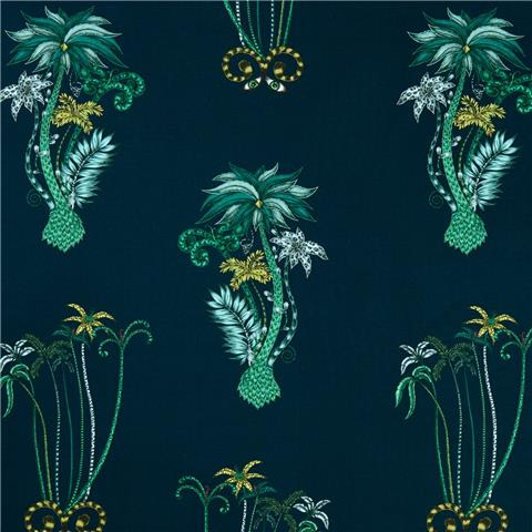 CLARKE & CLARKE ANIMALIA WALLPAPER BY EMMA J SHIPLEY jungle palms W0101-03