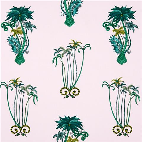 CLARKE & CLARKE ANIMALIA WALLPAPER BY EMMA J SHIPLEY jungle palms W0101-04
