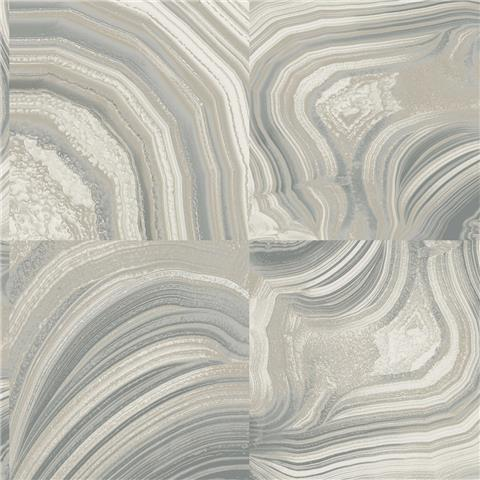 Crown Emporium Savoy Marble Wallpaper MO1465 Grey