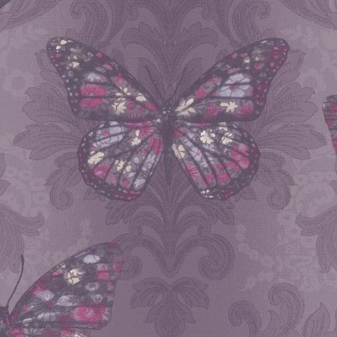 Arthouse Midsummer Wallpaper Plum