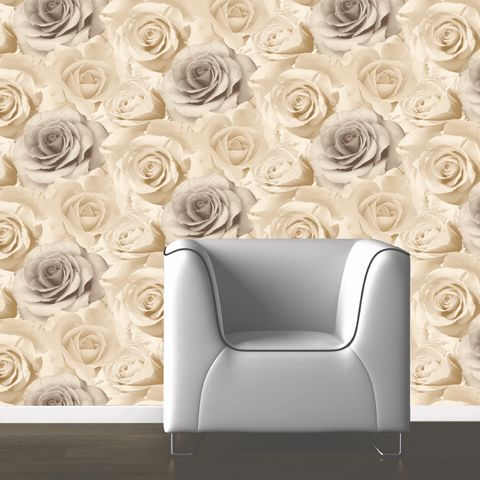Muriva Madison Wallpaper Cream