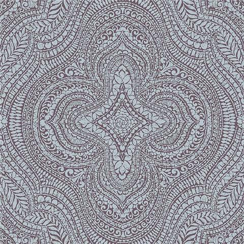 GALERIE ESSENTIALS WALLPAPER Paisley damask 20512