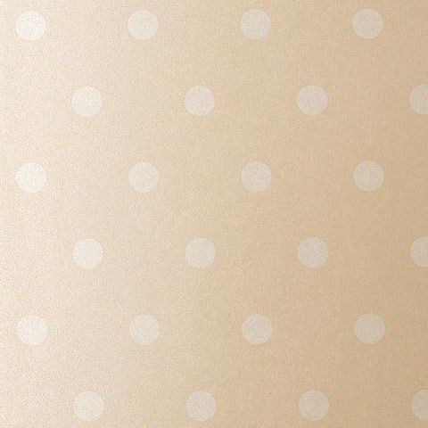 Anna French Wild Flora Spot Wallpaper-Light Mushroom