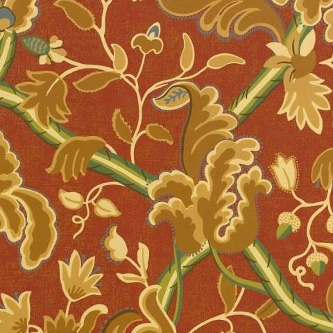 TThibaut Anniversary Demark Wallpaper T6032 Red