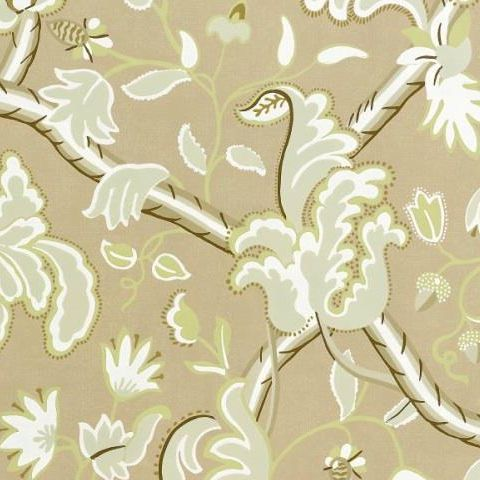 TThibaut Anniversary Demark Wallpaper T6034 Cream and Beige