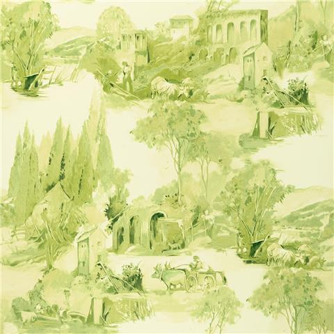 Clarke & Clarke Colony Wallpaper Anastacia Toile W0080-02