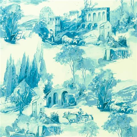 Clarke & Clarke Colony Wallpaper Anastacia Toile W0080-03
