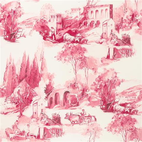 Clarke & Clarke Colony Wallpaper Anastacia Toile W0080-07