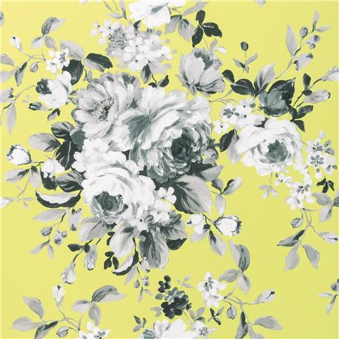 Clarke & Clarke Colony Wallpaper Emeline floral W0081-01