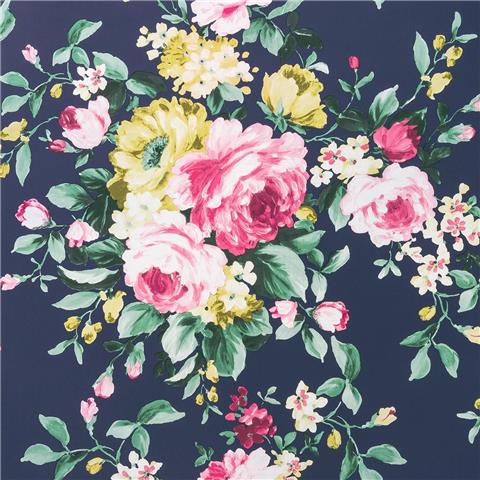 Clarke & Clarke Colony Wallpaper Emeline floral W0081-04