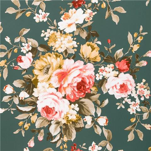 Clarke & Clarke Colony Wallpaper Emeline floral W0081-05