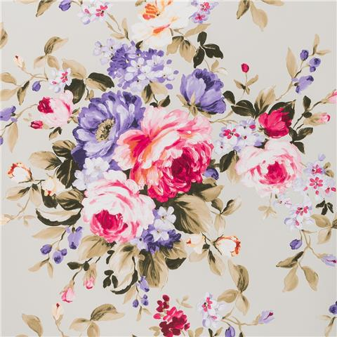 Clarke & Clarke Colony Wallpaper Emeline floral W0081-06