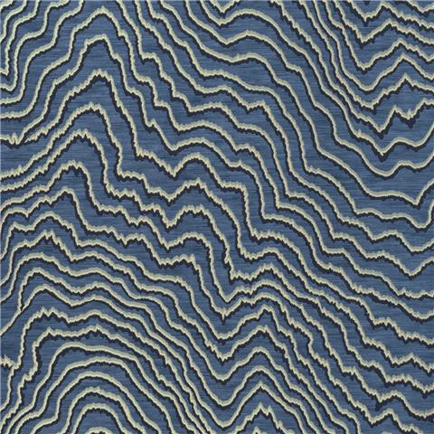 CLARKE & CLARKE COLONY WALLPAPER fiji wave W0082-04