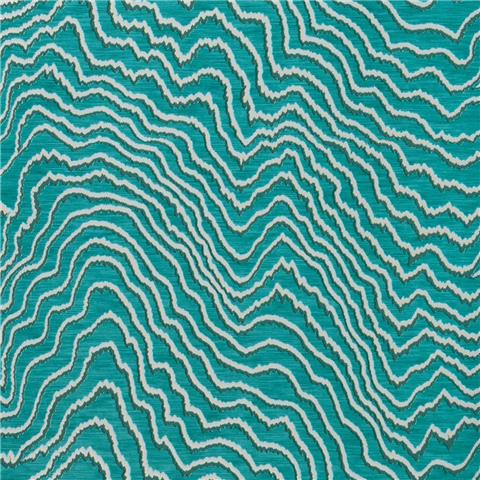 CLARKE & CLARKE COLONY WALLPAPER fiji wave W0082-09