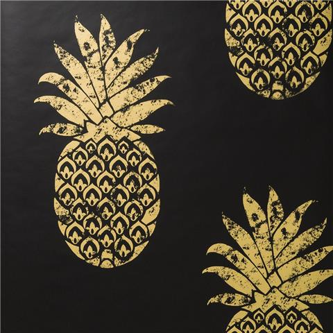 Clarke & Clarke Colony Wallpaper Tobago Pineapple W0086-01