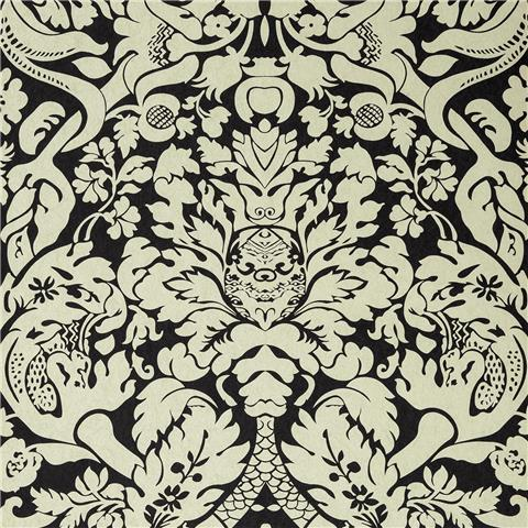 CLARKE & CLARKE COLONY WALLPAPER valentina damask W0088-02