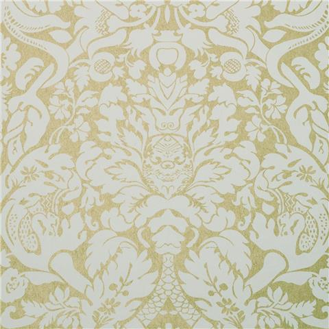 CLARKE & CLARKE COLONY WALLPAPER valentina damask W0088-03