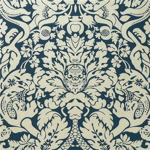 CLARKE & CLARKE COLONY WALLPAPER valentina damask W0088-04