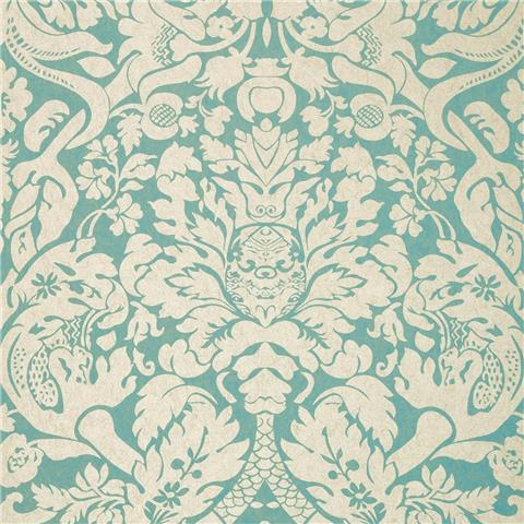 CLARKE & CLARKE COLONY WALLPAPER valentina damask W0088-05
