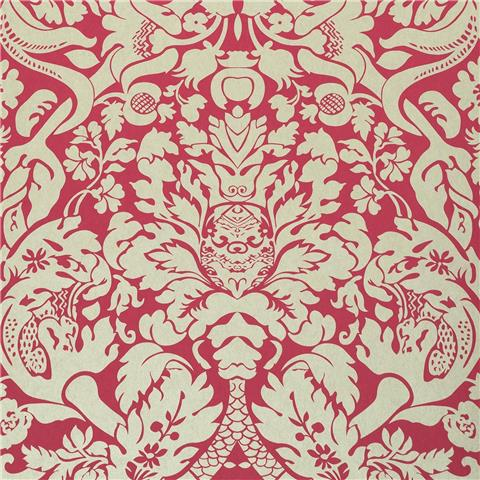CLARKE & CLARKE COLONY WALLPAPER valentina damask W0088-07