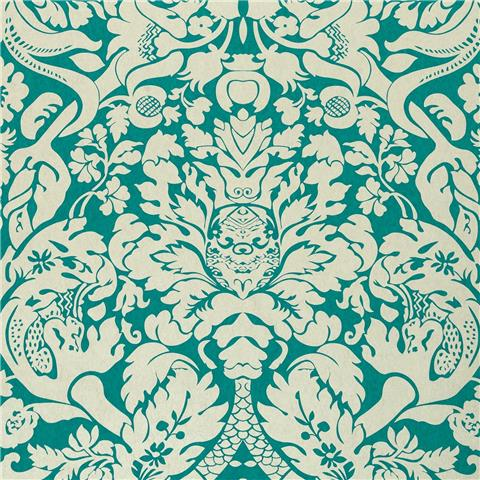 CLARKE & CLARKE COLONY WALLPAPER valentina damask W0088-08