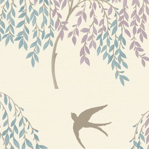 Arthouse Willow Song Wallpaper Duck Egg