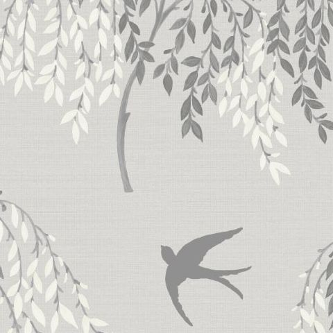Arthouse Willow Song Wallpaper Grey