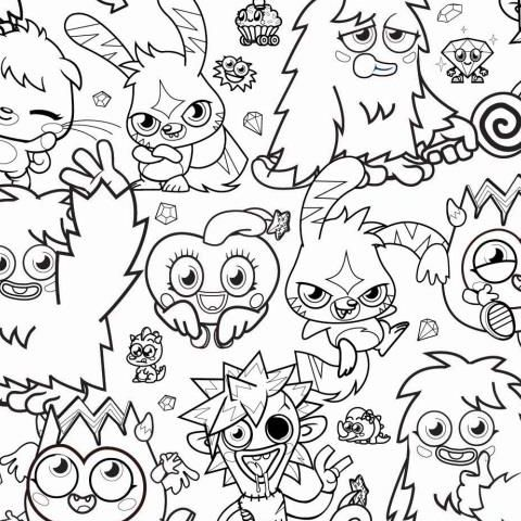 Moshi Monsters Wallpaper