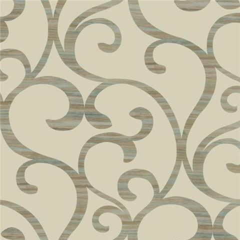 York Designer Series Dazzling Dimensions Wallpaper-Dazzling Coil Y6200301 Deep Gold