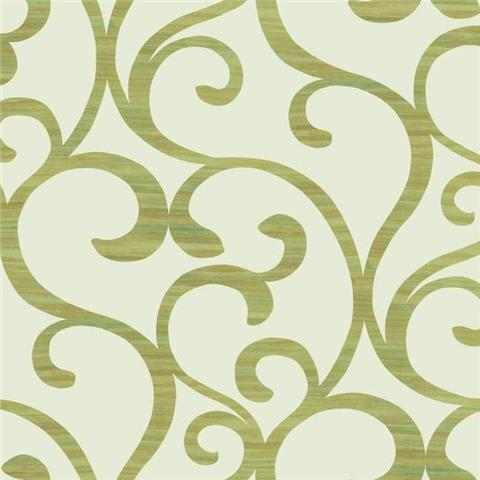 York Designer Series Dazzling Dimensions Wallpaper-Dazzling Coil Y6200302 Bright Gold
