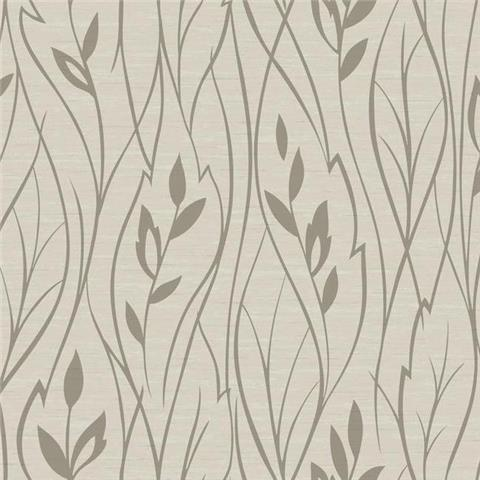 York Designer Series Dazzling Dimensions Wallpaper-Leaf Silhouette Y6200804 Pale Gold