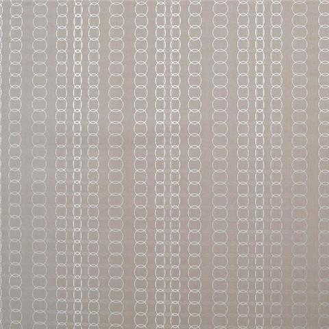 York Mid Century Wallpaper-Oval Mesh Y6220805 Taupe