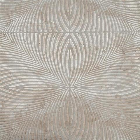York Mid Century Wallpaper-Optic Y6221303 Taupe/Gilver